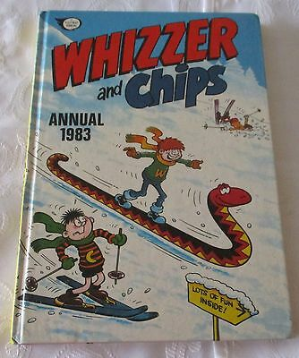 WHIZZER and CHIPS ANNUAL 1983  - PRICE UN CLIPPED