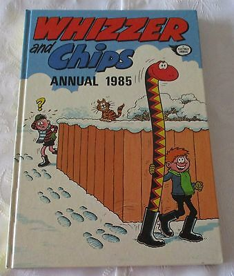 WHIZZER and CHIPS ANNUAL 1985 - PRICE  UN CLIPPED