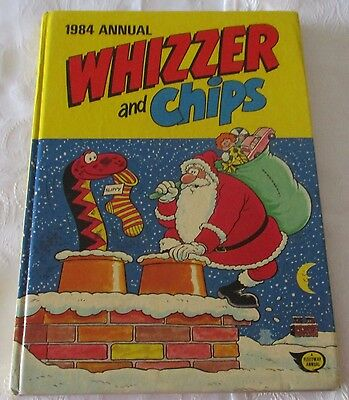 WHIZZER and CHIPS ANNUAL 1984 - PRICE CLIPPED