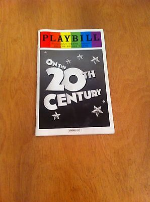 Playbill Programme On The 20th Century  At Roundabout Theatre