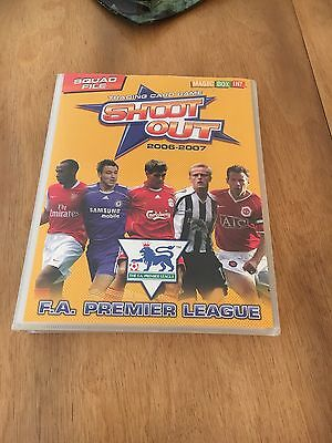 Trading Cards In Folder 2006 - 2007  Approx 320 Cards F A Premier League
