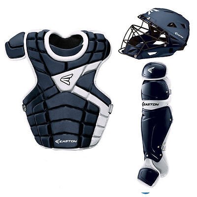 Easton M10 Youth Catchers Gear Set - Navy White
