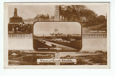 Views Of South Shields Real Photograph 18 Aug 1917 Brittain & Wright Stockton