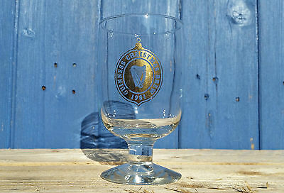 Vintage Guinness Glass Beer Christmas Brew 1981 Breweriana