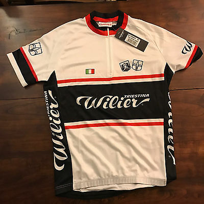Maglia bici WILIER NEW VINTAGE JERSEY S M  ciclismo bike jersey