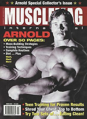 Musclemag Bodybuilding Magazine March 2007 Arnold Schwarzenegger 50 Pages