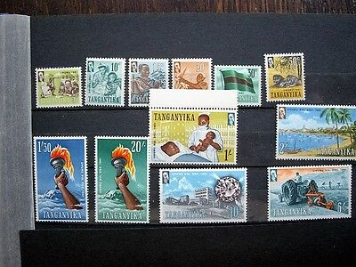 Tanganyika; 1961; Independence Issue pt set to £1; MM/MNH