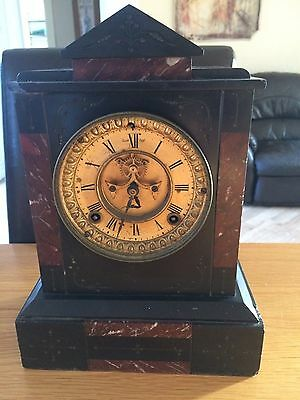 Vintage Antique Ansonia Clock New York 1882