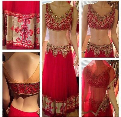 Indian/pakistani Bollywood Designer Lengha Choli