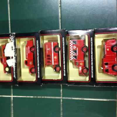 Job Lot Collection Of 5  Lledo Diecast Models Londons Burning Series