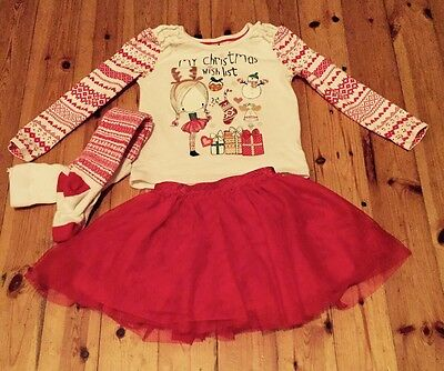 Beautiful Christmas Girls 3 Piece Set From Tu 2-3 Years