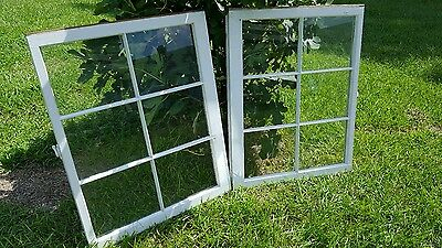 Vintage Sash Antique Wood Window Unique Frame Pinterest Wedding 6 Pane Set Of 2