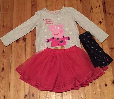 Beautiful 3 Piece Peppa Pig Suit From M&S 1.5-2 Years