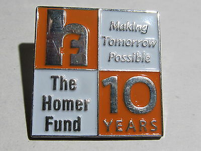 New Home Depot the homer fund 10 years Lapel Pin