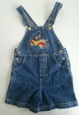NIDDY denim Short Overalls Dungarees outfit kids Size 4 T boys 100% Cotton