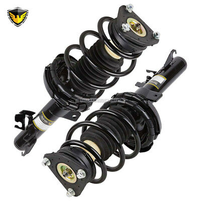 Pair New Duralo Complete Front Left & Right Strut Shock Coil Spring Assembly