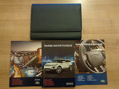 Range Rover Evoque Owners Handbook/Manual and Pack 11-15
