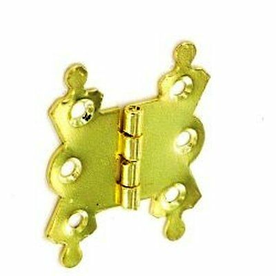 Brass 50mm Fancy Hinges - 2 Pack