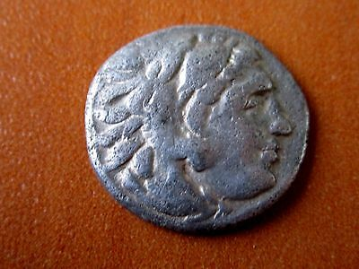 Silver AR Drachm of Alexander III the Great 336-323 BC Ancient Greek Coin