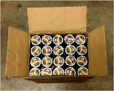 """1000 Poker Chips Reno, NV  """"50""""  Blue Clay Composite 11.5gr GREAT DEAL *"""