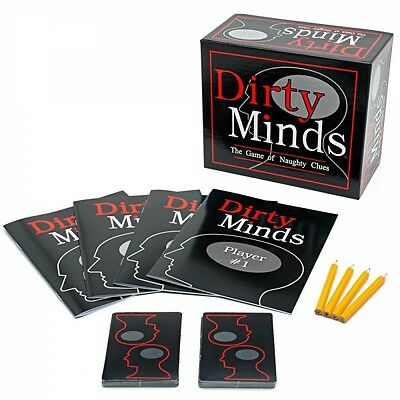 Dirty Minds Board Game Brand New