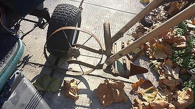 Planet JR Wooden Handle Cast Iron plow cultivator gardener