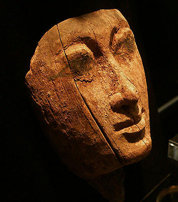 Ancient Egyptian Wooden Mask