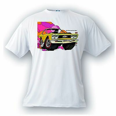 plymouth GTX adios vintage image t-shirt muscle cars