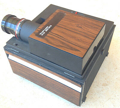 vintage Bell & Howell RC55 Slide Cube Projector