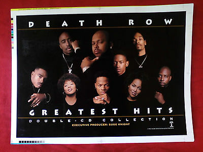 Death Row Records Master Proof Only 1 Like It On Planet Earth Suge Knight Tupac