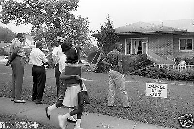 1963-Bombed House of  NAACP American Civil Rights Attorney Arthur Shores