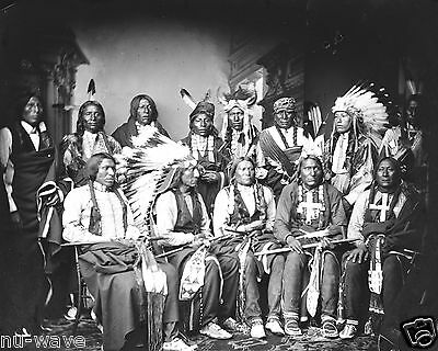 1860-Red Cloud and Indians-Red Bear-Young Man Afraid of his Horse, Good Voice