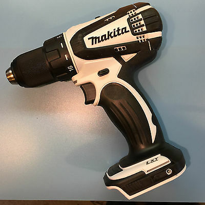 "Makita 1/2"" 18V Lxt Drill White "" Bare Tool "" Ddf456 Afterglow Light Feature"