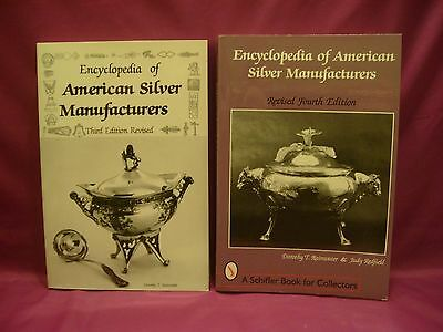 2 Encyclopedia of American Silver Manufacturers 3rd & 4th Edition