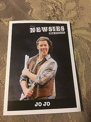 NEWSIES The Musical Broadway Trading Card Thayne Jasperson Jo Jo