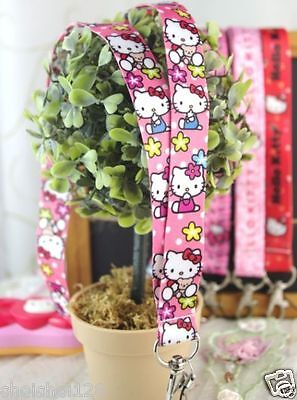 New Hello Kitty Handphone Mobile Phone Lanyard Neck Strap Hand Strap KK125