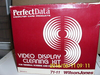 Video display cleaning kit by Perfect Data never used