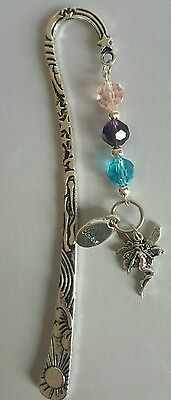Metal and Beaded Fairy Theme Bookmark. #3 lovely gift
