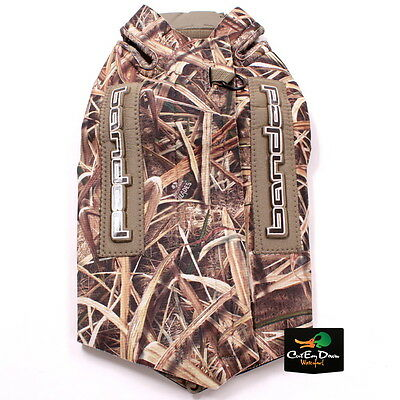 Banded Gear 5Mm Neoprene Parka Boaters Dog Vest Shadow Grass Blades Camo Large
