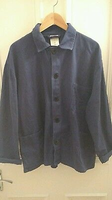Men's Vintage Chore / French Worker Jacket Workwear Oi Polloi LARGE L