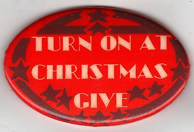TURN ON At Christmas ~ GIVE ~ Pin!