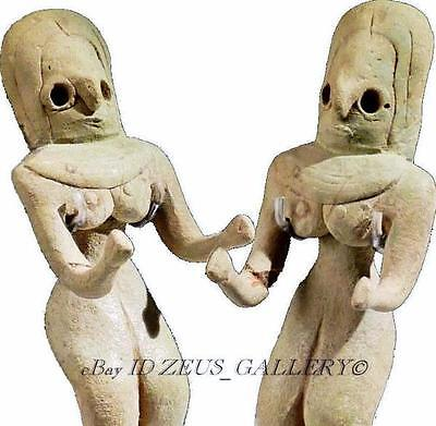 INDUS VALLEY IDOL Pottery FERTILITY Figure Female Early Bronze Age 2800 BC