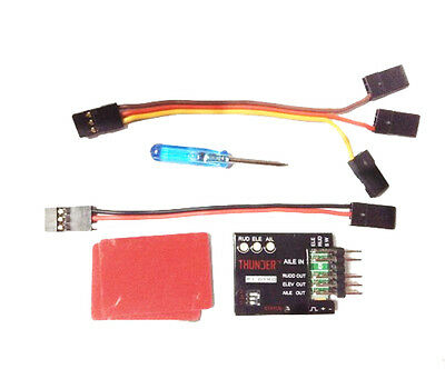 P1-GYRO 3-Axle Flight Controller Stabilizer System Gyro For Fixed Flying Airplan