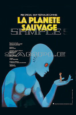 18 Fantastic Planet 1973 French Movie Poster Photo Print