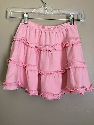 NWT Crazy 8 Toddler Girl Pink Ruffle Skirt Size 4