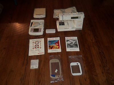 Bernette Deco 500 by Bernina Embroidery Sewing Machine/ Deco Scan Plus Cards Acc
