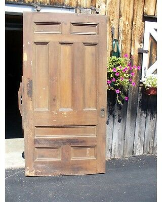 ANTIQUE VICTORIAN 8 Panel ARCHITECTURAL SALVAGE SLIDER POCKET Doors