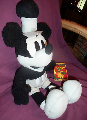 """Mickey Mouse 16"""" Plush 75 Years of Fun Toy Factory  Original Tags SHIPS FREE!"""