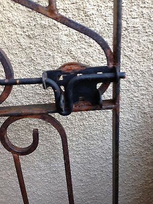 Pair Of Custom Made Iron Architectural Gates - Separate Or Together - See Below