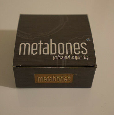 Metabones Nikon G to Sony E mount adapter Like new!